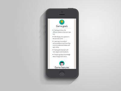 Canovia mobile web app ios css3 design html5 responsive games kids