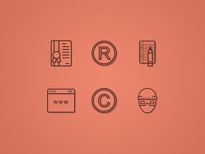 Iconos  icons icon ui android ios ai illustrator web intellectual property