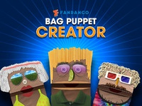 Fandango bag puppet creator
