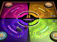 """History Channel """"America"""" Online Board Game Concept"""