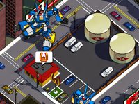 Megas XLR Web Game