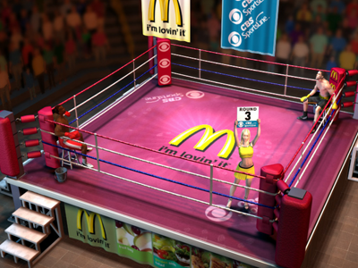 Boxing Comp boxing game web game