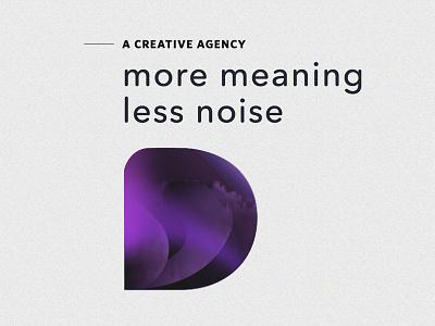 DesignUps - Work In Progress typography concept homepage webdesign agency