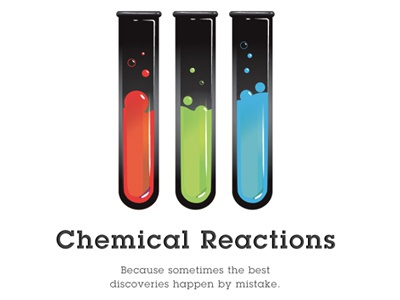 Chemical Reactions icon minimal animation
