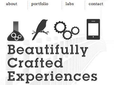 Mobile Closeup of workbysimon mobile mobile design responsive design icons
