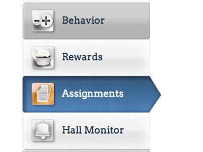 Menu UI menu ui icons navigation application design