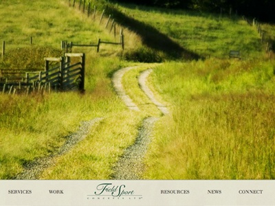 Field Sport Concepts architecture landscape green conservation portfolio site wordpress