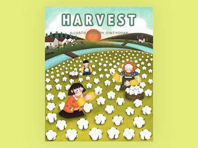 Harvest#CintyChan# illustration