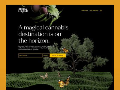 Herb & Legend — Landing page