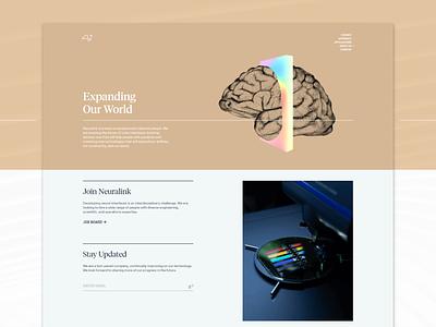 Neuralink — About about us about page html website web css grid css responsive responsive website ui web design colorful elon musk neuralink layout web development