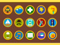 Wilderness Explorer Badges