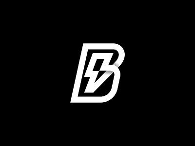 Bolt logo logotype typography logo vector branding logodesign minimal monogram