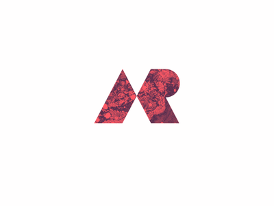 AR logo vector monogram branding minimal logotype logo logodesign