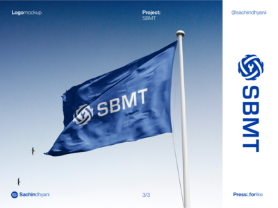 SBMT logo mockup