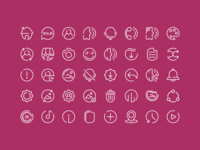 Sorush Icon Set