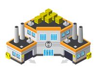Factory  isometric design