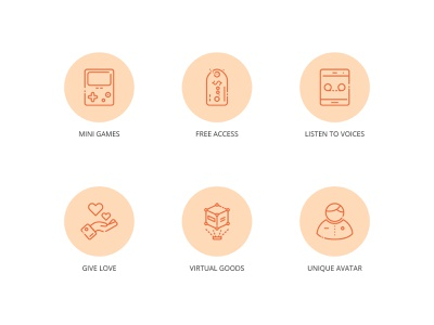 SAY App Feature Icons linear linear icons feature icons features iconography icon designer icon design vector icon application illustraor app illustration designer design