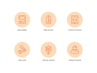 SAY App Feature Icons