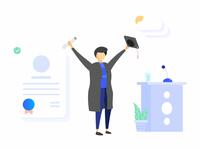 Dana Illustrations Graduation