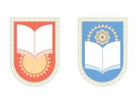 Old school emblem