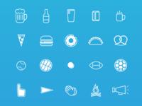 Pub Line Icons