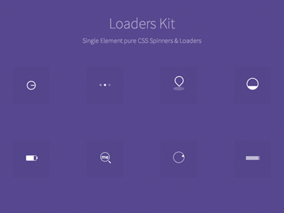 Loaders kit css spinners loaders ui viduthalai code