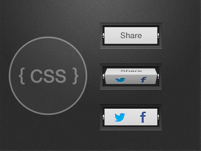 Share Spinner share twitter facebook spinner cube viduthalai button css coding animation concept
