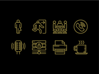 General Provision Wayfinding Icons