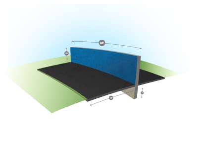 Bounce Wall bounce wall structure wall diagram