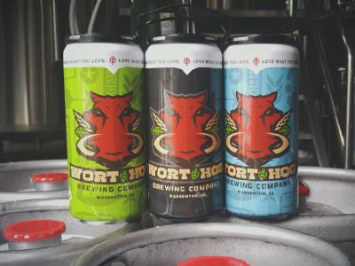 Crowlers america wort hog packaging can beer crowler