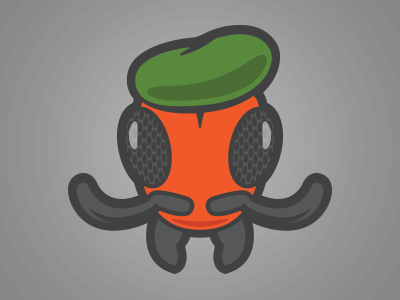 Commander army mandible béret ant
