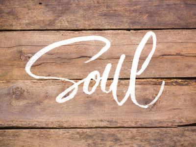 Soul fancy pants practice soul script brush lettering