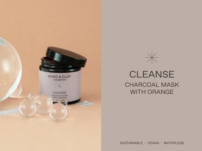 koko&clay packaging packaging design cosmetic packaging cosmetic label cosmetic facemask packaging logotype berlin