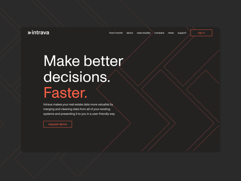 Intrava rebrand branding ui webdesign rebrand data visualization data