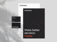 Intrava branding typography logo brand identity brand design branding