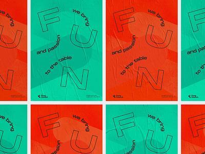 Pong Crunch Identity berlin startup table tennis pingpong poster art brand poster design poster logo typography brand identity brand design branding