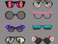 Eyewear Sticker pack