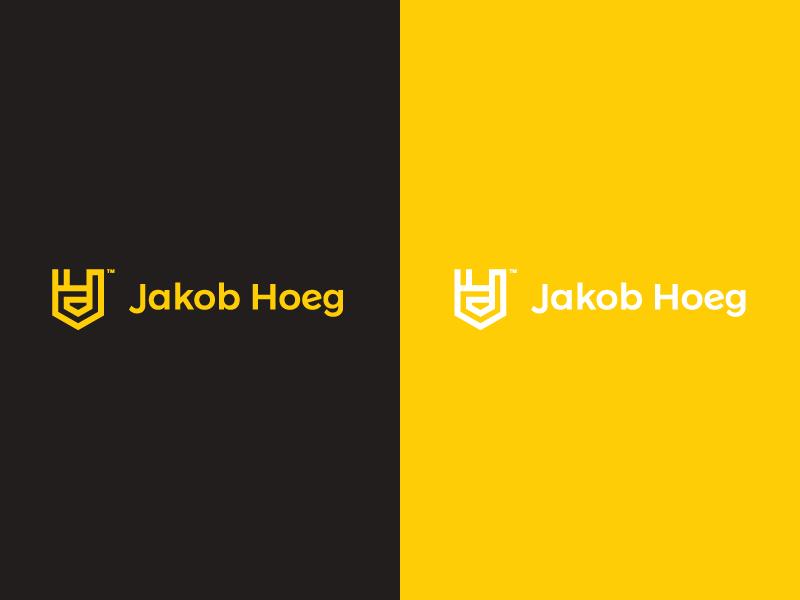JH Logo design graphic new identity identity rebrand rebranding vision creative branding first shot logo negative space