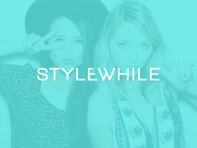 Stylewhile Logo logo fashion girls clothes dresses photo ipad app
