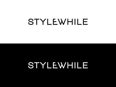 Stylewhile Logo logo fashion clothes dresses photo ipad app