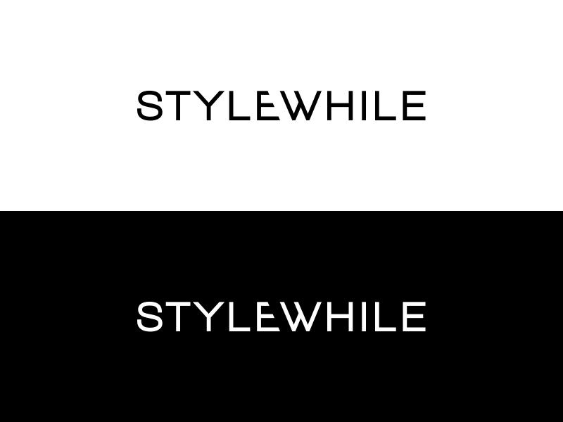 Stylewhile logo bw