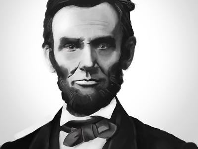 Painting - Abraham Lincoln painting abraham lincoln photoshop