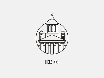 Helsinki Icon ui city typography iconography icon finland offscreen helsinki