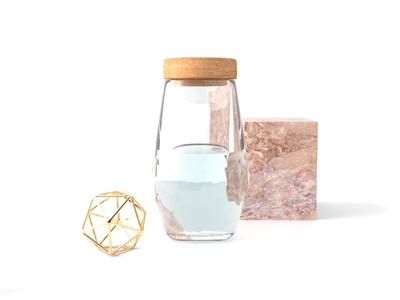 Trendy Objects finland helsinki industrial design illustration realistic rendering modeling steel water glass 3d