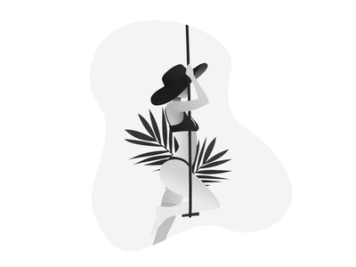 Nautical scandinavia woman illustration helsinki hat grey female designer beach affinity