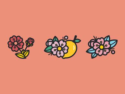 Cherry Blossom Icons