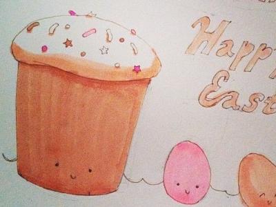 Happy Easter sketch easter happy sketch markers illustration