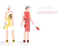 ISSEY MIYAKE Pleatsplease 2014