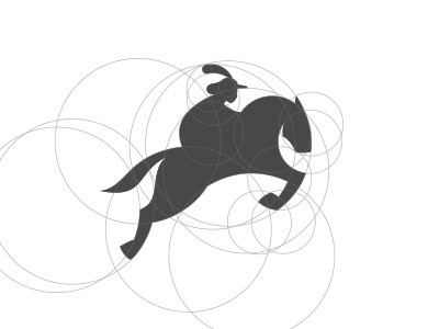 Foodsquire grid squire mark logo horse