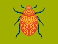 Buggin' Out psychadelic design vector bugs illustrator design illustrator procreate ipad illustration bug beetle